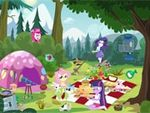 Play Equestria Girls Picnic Story