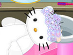 Play Hello Kitty Wedding Hair Salon