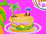 Play Cooking Hawaiian Burgers