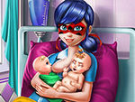 Play Ladybug Twins Birth