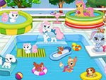 Play Palace Pets Pool Party
