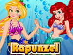 Rapunzel Mermaid Makeover