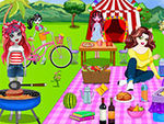 Play Monster High Picnic Party