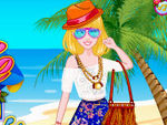 Play Barbie Hawaii Vacation Packing