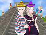 Play Elsa And Jack Selfie In Mexico