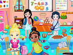 Little Princesses In Play School