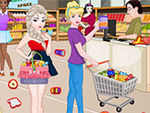 Play Princesses In Supermarket