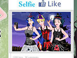 Play Princesses Halloween Selfie Like