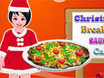 Play Christmas Breakfast Sausage Casserole