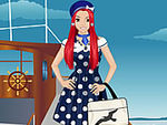 Sweet Sailor Girl Dress Up