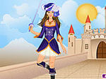 Play Musketeer Girl Dress Up