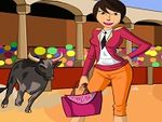 Play Bullfighting Dress Up Game