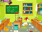 Play Clean Up My Laboratory