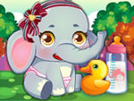 Play Baby Elephant Care
