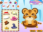 Play Baby tiger dressup
