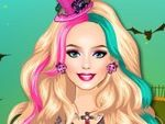 Play Barbie Halloween Night