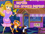 Play Barbie Ice Cream