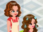 Beauty Hair Clinic Girl Game