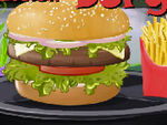 Play Salsa Chicken Burger