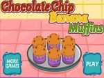 Play Chocolate chip banana muffins