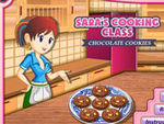 Play Sara's Cooking Class Cholocate Cookies