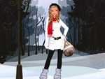 A Fashionable Winter Dress Up