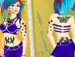 Tattoo Mirror Dress Up