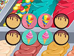 Play Ice cream memory game