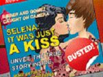 Play Justin and Selena Kissing Vacation