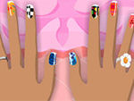 Play Lea Lilou and Lee Manicure Game