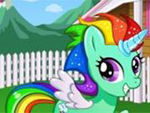 Play My Rainbow Pony Daycare