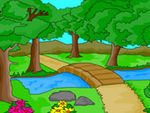Play Nature Scenery Coloring