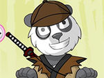 Play Panda Dress Up Game