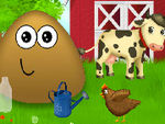 Play Pou at the Farm