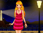 Play Romantic evening dressup