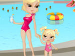 Play Swimming with Mom