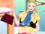 Play Barbie winter fashion